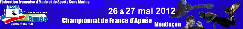 Championnat de France d'Apnée 2012 à Montluçon (1/3)