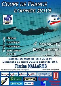 Besançon apnée 2013