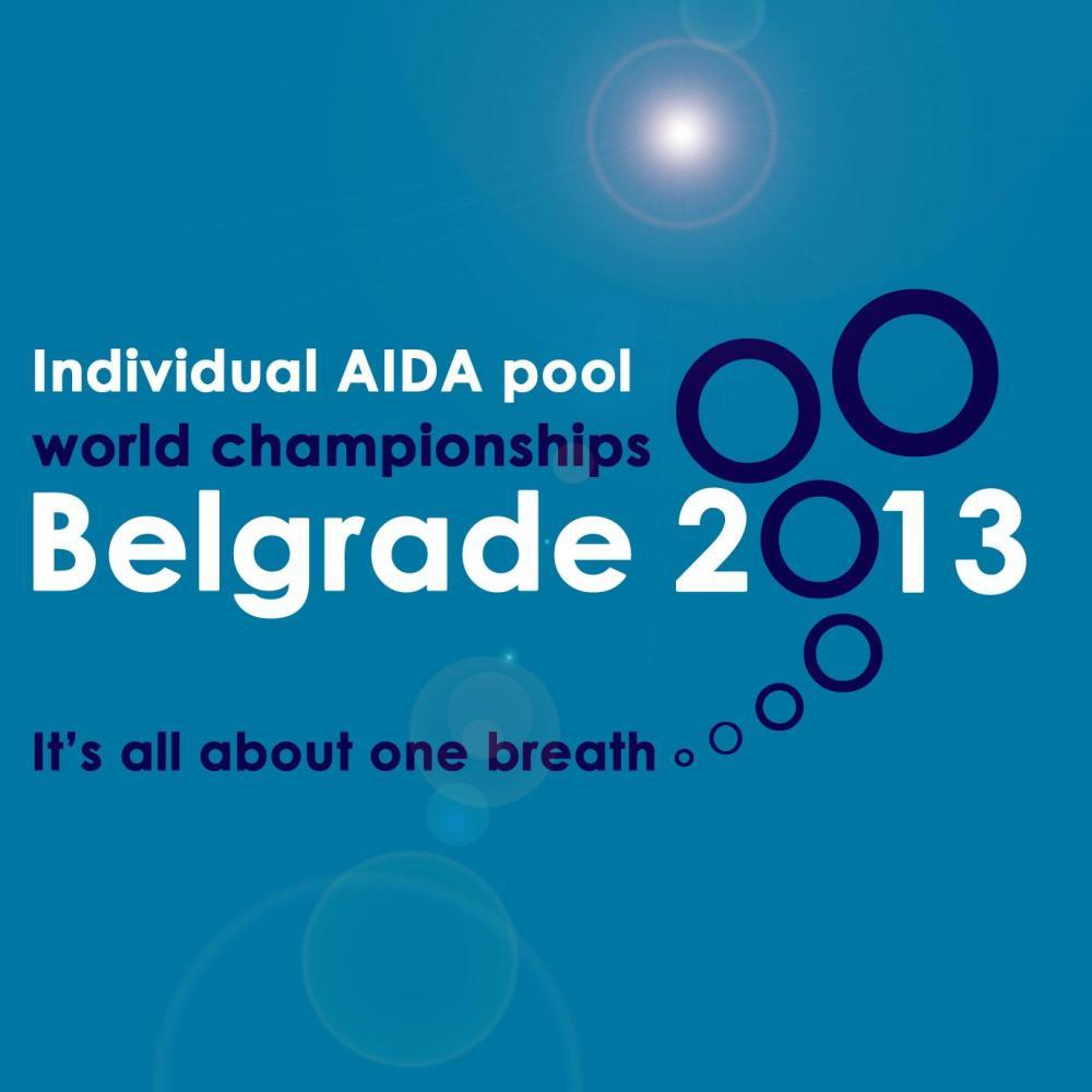 Championnat du Monde 2013 AIDA Indoor Belgrade Serbie