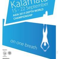 Championnats du Monde de profondeur AIDA 2013 à Kalamata en Grèce, du 15 au 22 septembre