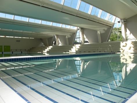 Le nouveaux complexe nautique AQUALAC à Aix-les-bains