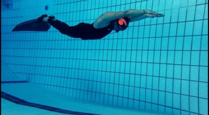 Nicolas Fougerousse qualifié pour les Championnats du monde d'apnée AIDA indoor !