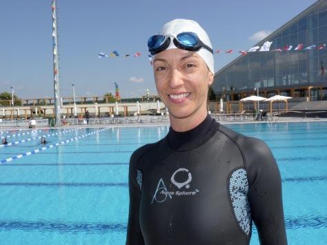 Audrey Palma après son 103m !