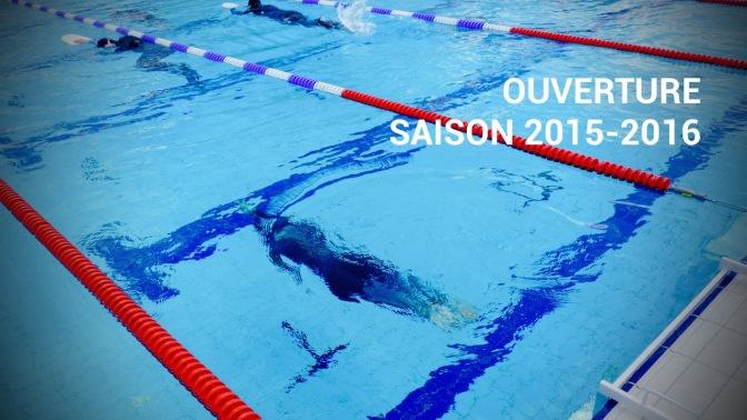 Ouverture de la saison 2015-2016 d'apnée en piscine !