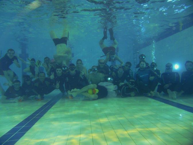 Dernière séance piscine de l'année 2015