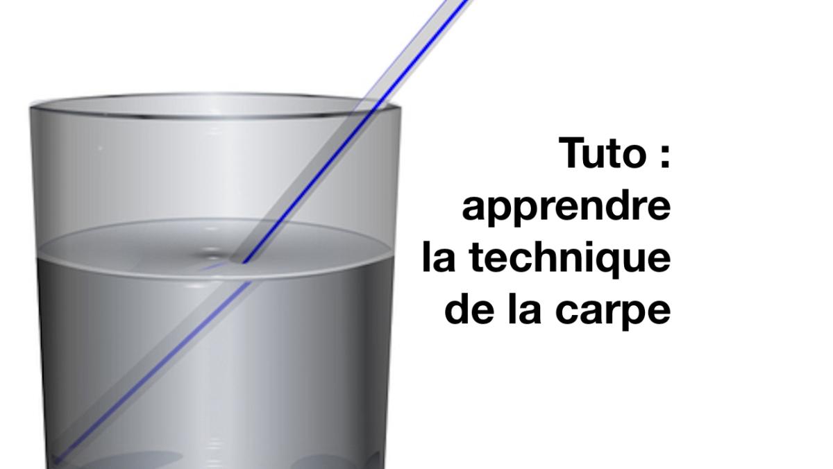 Tuto compétition : comment apprendre la technique de la carpe ?