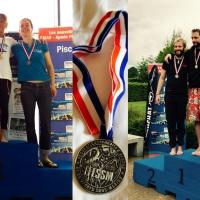 Vice-champions de France 2017 en STA et DYN : Marie Ekstets et Nicolas Fougerousse !